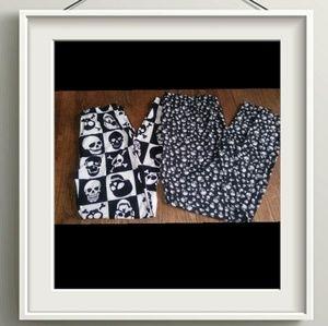 Bundle of 2 plus size leggings 2x
